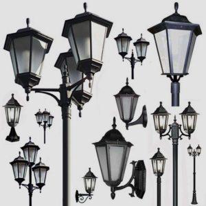 Уличные фонари 1001, 1005, 2036, 2037