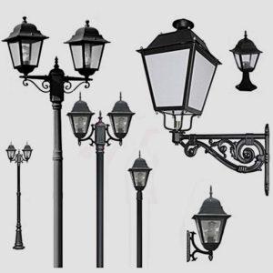Уличные фонари 1002, 1009, 2039, 2189