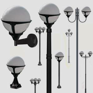 Уличные фонари 1004, 1018, 2044