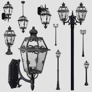 Уличные фонари 1008