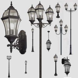 Уличные фонари 1019, 2045