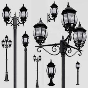 Уличные фонари 1010, 2040, 2051
