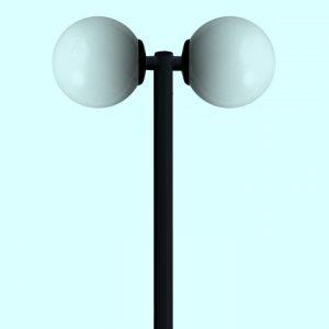 Садово-парковые светильники 3267, 3268, 3269