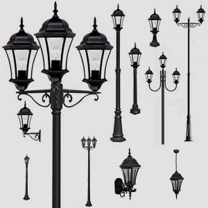 Уличные светильники 1028, 2047