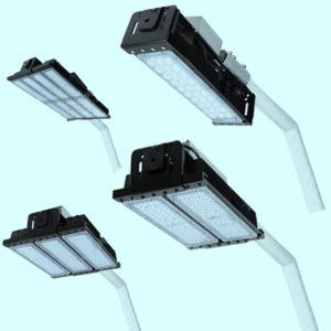 Уличные фонари 3835, 3836, 3837, 3838