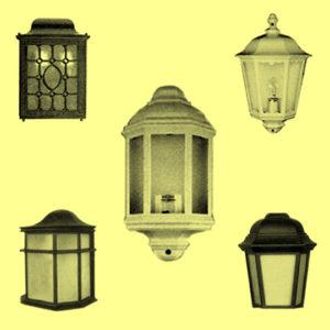 Уличные фонари 5112, 5123, 5124, 5125, 5135