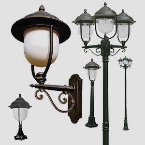 Уличные светильники на столб 1014