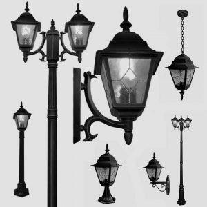 Уличные светильники на столб 1025