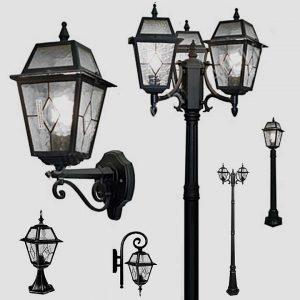 Уличные светильники на столб 1027