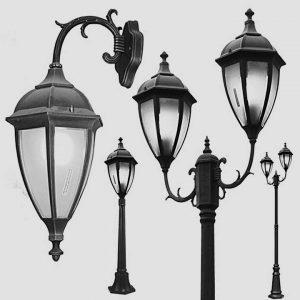 Уличные светильники на столб 1031