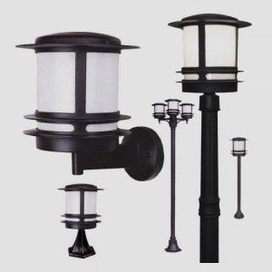 Уличные светильники на столб 1032