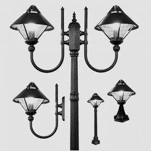 Уличные светильники на столб 1033