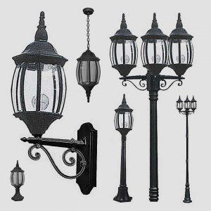 Уличные светильники на столб 1060