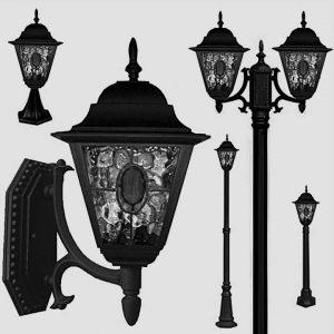 Уличные светильники на столб 1169
