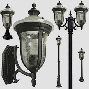 Уличные светильники на столб 1172