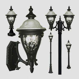 Уличные светильники на столб 1180