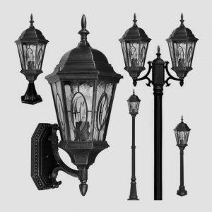 Уличные светильники на столб 1303