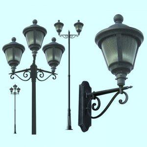 Уличные светильники на столб 2054