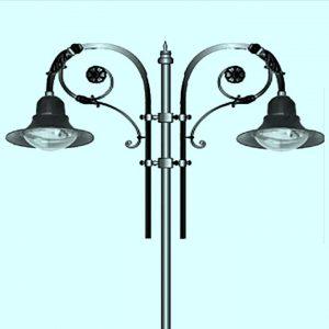 Уличные светильники на столб 2206