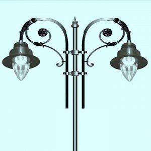 Уличные светильники на столб 2257