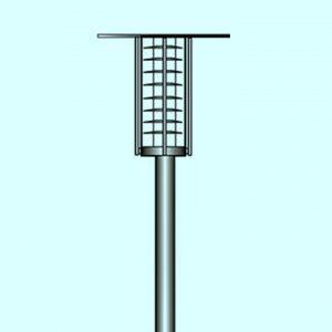 Уличные светильники на столб 3424, 3434