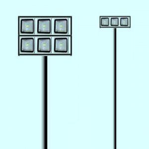 Уличные светильники на столб 3781