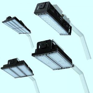 Уличные светильники на столб 3835, 3836, 3837, 3838