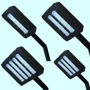 Уличные светильники на столб 3852, 3854, 3855, 3856