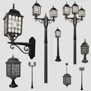 Уличные светильники с датчиком движения 1022, 2046