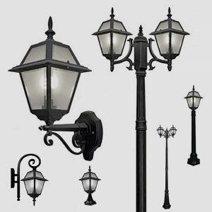 Уличные светильники с датчиком движения 1029
