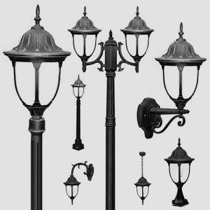 Уличные светильники с датчиком движения 1030