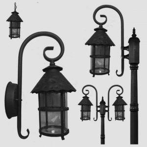 Уличные светильники с датчиком движения 1061
