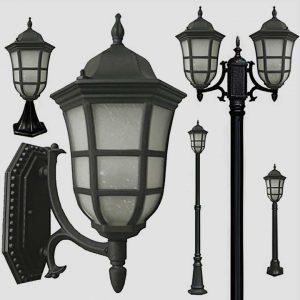Уличные светильники с датчиком движения 1173