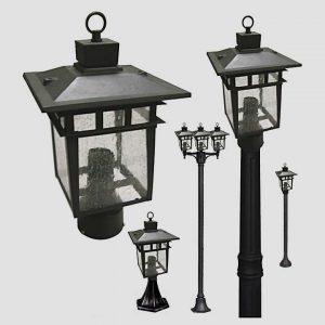 Уличные светильники с датчиком движения 1174