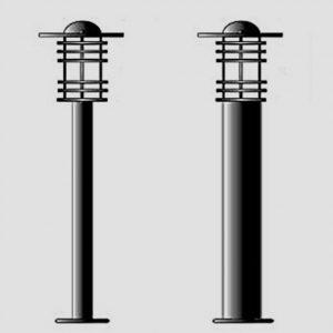 Уличные светильники с датчиком движения 4425