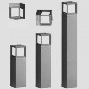 Уличные светильники с датчиком движения 4534, 4466, 4535, 5536, 5537