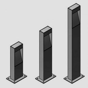 Уличные светильники с датчиком движения 4548, 4549, 4550